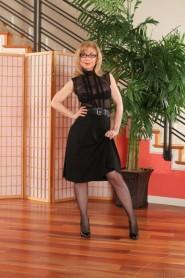 Free porn pics of Nina Hartley black dress 1 of 80 pics
